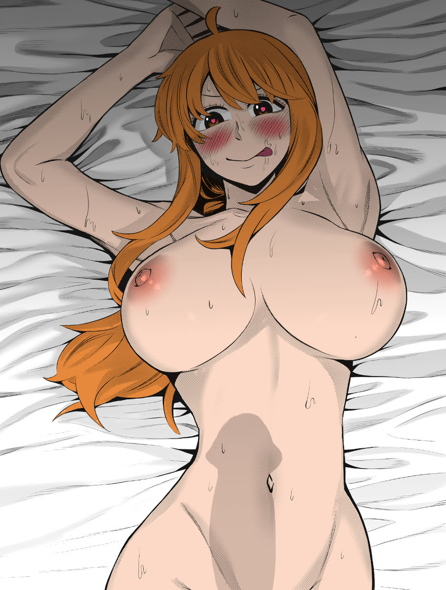 Nami hentai one piece 24